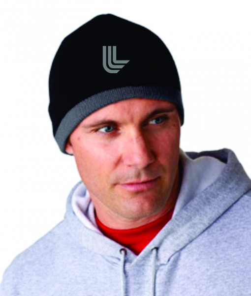 UltraClub® Two-Tone Knit Beanie