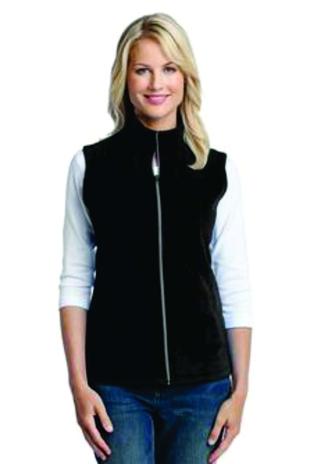 Port Authority® Ladies Microfleece Vest