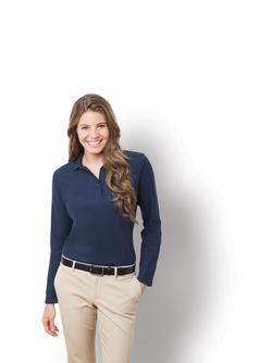Port Authority Ladies Long Sleeve Silk Touch Sport Shirt