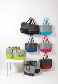 Port Authority® Two-Tone Felt Tote