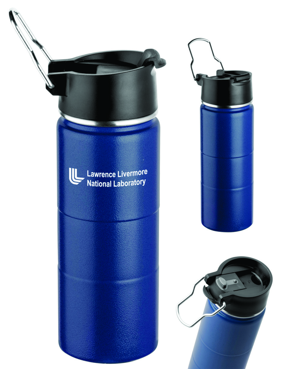 16 oz Logo Thermos Water Bottle